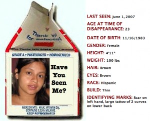 Lilly Aramburo Missing Mother